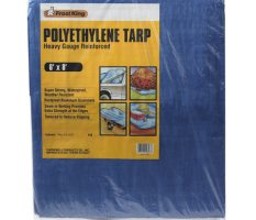 Heavy-Gauge Reinforced Polyethylene Tarps with Aluminum Grommets Product Image