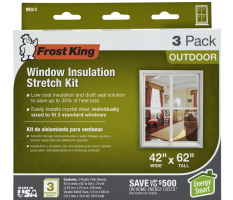 Outdoor Stretch or Nail-on Window Kits Product Image