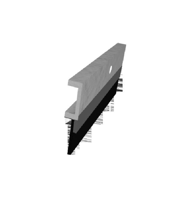 Lifetime Premium Aluminum and Reinforced Rubber Door Sweep