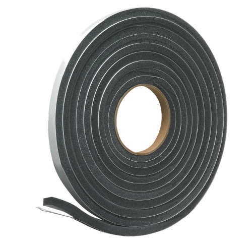 SELF ADHESIVE POLY FOAM WEATHERSEAL STRIPPING FOR NARROW GAPS STOP DRAFTS!