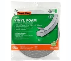 Vinyl Foam Weatherseal Product Image