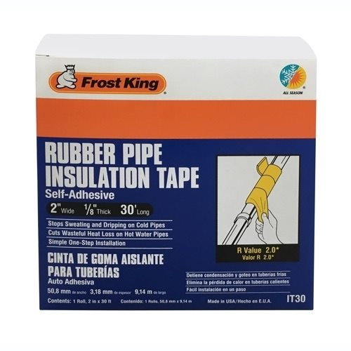 Rubber Pipe Insulation Tape Frost King 174 Weatherization
