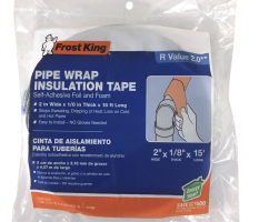 Foam and Foil Pipe Insulation Product Image