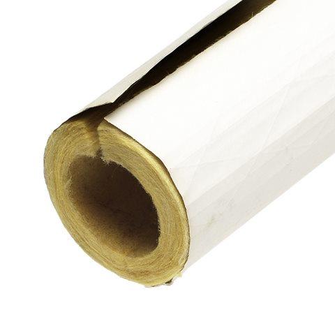 Pre Slit Tubular Fiberglass Pipe Cover With Self Sealing