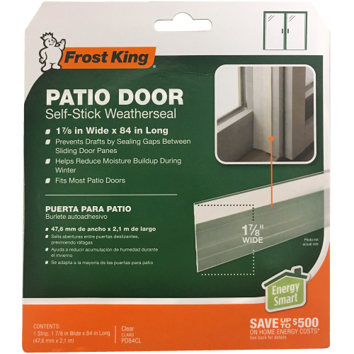 Patio Door Weatherstrip Frost King Weatherization Products