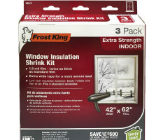 Extra Strength Indoor Shrink Window Kits Product Image