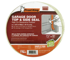 Plastic Garage Door Side and Top Weatherstrip Kit Product Image