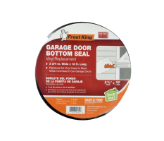 Vinyl Garage Door Bottom Weatherseal Replacement Product Image