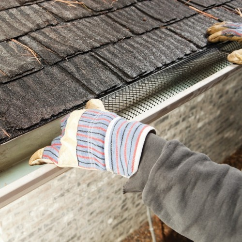 Plastic Mesh Gutter Guard Frost King Weatherization Products