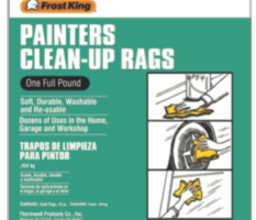 Painter's Clean-up Rags Product Image