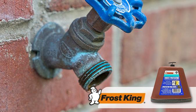 October Satur-DIY: Winterize Outdoor Faucets   Tip Image