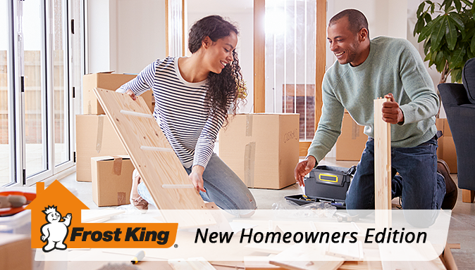 New Homeowners Edition: Weather Your First Winter in Your New Home Tip Image