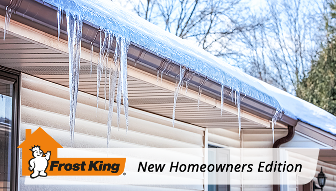 New Homeowner Edition: Your Guide to Ice Dams (and What to do About Them) Tip Image