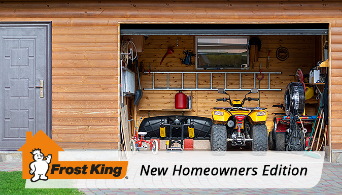 New Homeowners Edition: Show Your Garage Some Love Tip Image