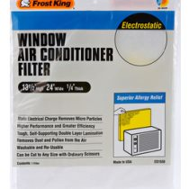 When to clean or replace window air conditioner filters Tip Image