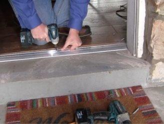 Door Sweeps/ Door Bottoms/ Door Thresholds Image 1 & Exterior Door Threshold Types | Frost King® Weatherization Products Pezcame.Com