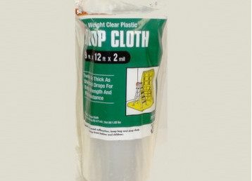 Drop cloth curtains and other creative drop cloth project ideas Tip Image
