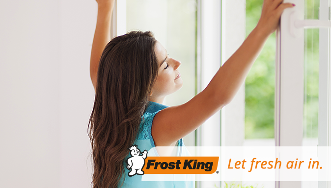 Screen Time: Let Fresh Air In with Frost King  Tip Image
