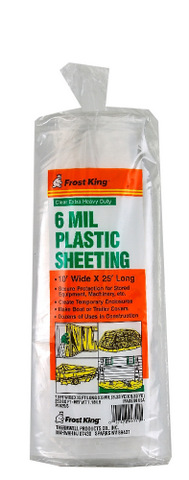 Packaged Polyethylene Sheeting Frost King 174 Products