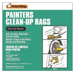 Painter's Clean-up Rags