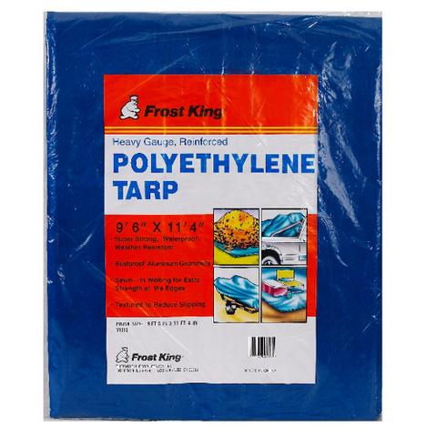 Heavy-Gauge Reinforced Polyethylene Tarps with Aluminum Grommets