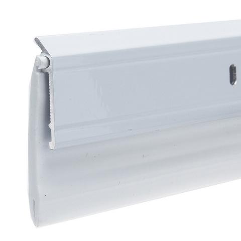 Premium Wide Aluminum and Vinyl Door Sweep