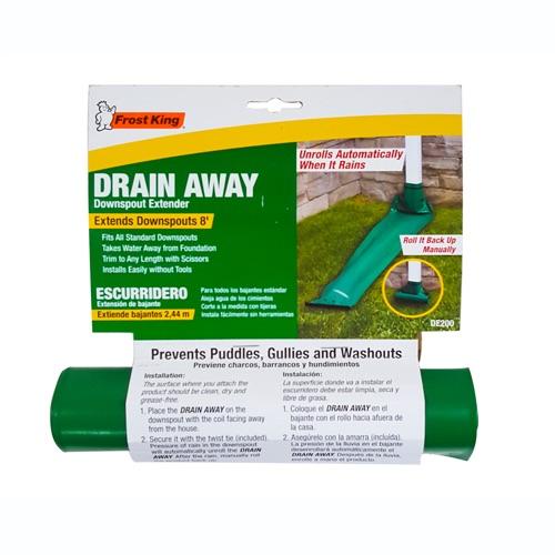 Standard Plastic Drain Away