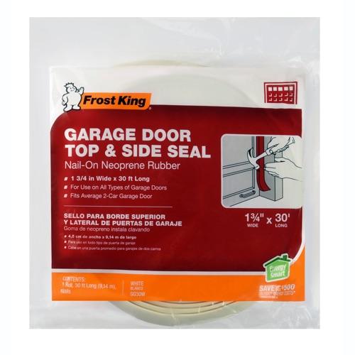 Plastic Garage Door Side and Top Weatherstrip Kit