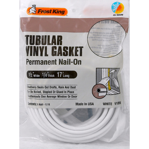 Tubular Vinyl Gasket Weatherstrip Frost King 174 Products