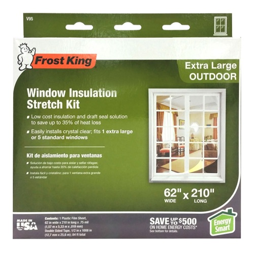 Outdoor Stretch and Nail-on Window Kits